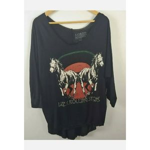 Lords of Liverpool dolman sleeves top